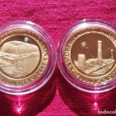 Monedas FNMT: SET MONEDAS DE ORO ESPAÑA 20000 PTS. 1990 - 1992 BARCELONA 92. Lote 234961535