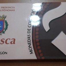 Monedas FNMT: OFERTA MONEDAS DE COLECCION CAPITALES DE PROVINCIAS CIUDADES AUTONOMAS HUESCA 2/52. Lote 235057300