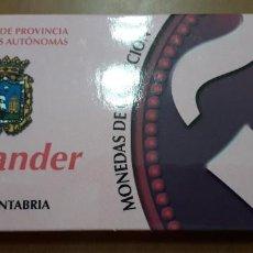 Monedas FNMT: OFERTA MONEDAS DE COLECCION CAPITALES DE PROVINCIAS CIUDADES AUTONOMAS SANTANDER 4/52. Lote 235057410