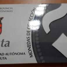 Monedas FNMT: OFERTA MONEDAS DE COLECCION CAPITALES DE PROVINCIAS CIUDADES AUTONOMAS CEUTA 8/52. Lote 235057650
