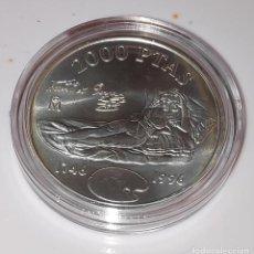 Monedas FNMT: ESPAÑA 2000 PESETAS 1996 - CONMEMORATIVA 250 ANV.N. GOYA - PLATA 925´-ENCAPSULADA. Lote 235365275