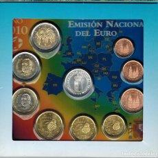 Monedas FNMT: BLISTER MONEDAS ESPAÑA 2010 CON MEDALLA AUTONOMIA CASTILLA LA MANCHA. Lote 235802080
