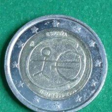 Monedas FNMT: MONEDA DE 2 € CONMEMORATIVA UEM 1999-2009 ESPAÑA. Lote 236030025