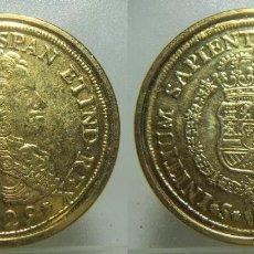 Monedas FNMT: REPRODUCCIÓN MONEDA DE FELIPE V. Lote 236481005