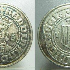 Monedas FNMT: REPRODUCCIÓN MONEDA DE FERNANDO V. Lote 236481330