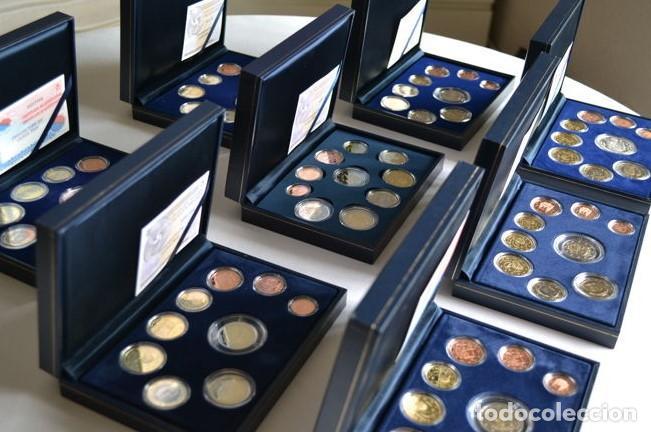 IMPRESIONANTE LOTE 14 ESTUCHES PROOF ESPAÑA - ÚNICO TODOCOLECCION / MILANUNCIOS (Numismática - España Modernas y Contemporáneas - FNMT)