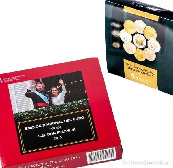 Monedas FNMT: Impresionante lote 14 estuches Proof España - Único Todocoleccion / Milanuncios - Foto 3 - 236709885