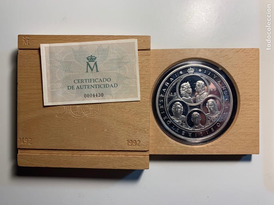 MONEDA CONMEMORATIVA V CENTENARIO EN PLATA. 1989, SERIE I (Numismática - España Modernas y Contemporáneas - FNMT)