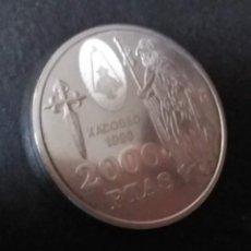 Monedas FNMT: 2000 PTAS PLATA 925. XACOBEO'99 SANTIAGO, GALICIA. Lote 37503754