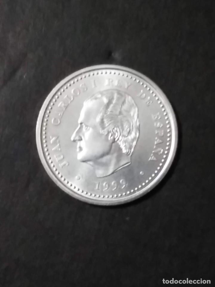 Monedas FNMT: 2000 ptas PLATA 925. XACOBEO99 SANTIAGO, GALICIA - Foto 5 - 37503754