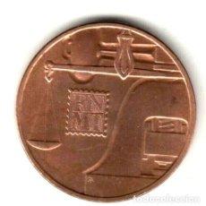 Monedas FNMT: ESPAÑA: MEDALLA BRONCE FNMT CECA DE MADRID (1987). Lote 230023655