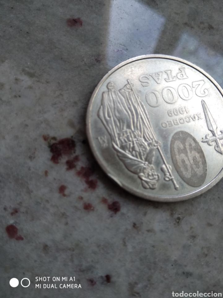 Monedas FNMT: Moneda 2000 pesetas- Xacobeo 1999 conmemorativa-SC - Foto 6 - 238238065