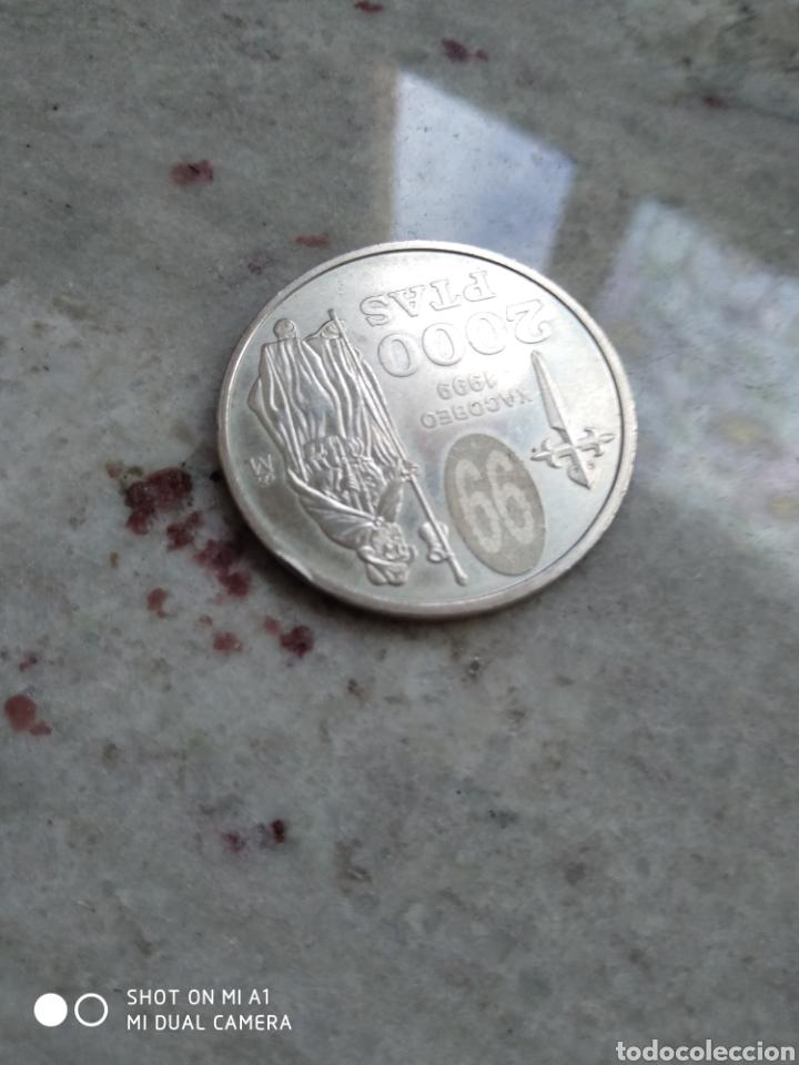 Monedas FNMT: Moneda 2000 pesetas- Xacobeo 1999 conmemorativa-SC - Foto 7 - 238238065