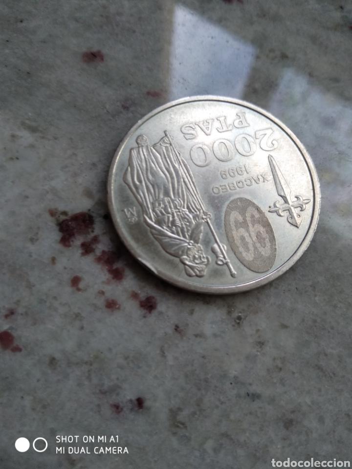 Monedas FNMT: Moneda 2000 pesetas- Xacobeo 1999 conmemorativa-SC - Foto 8 - 238238065