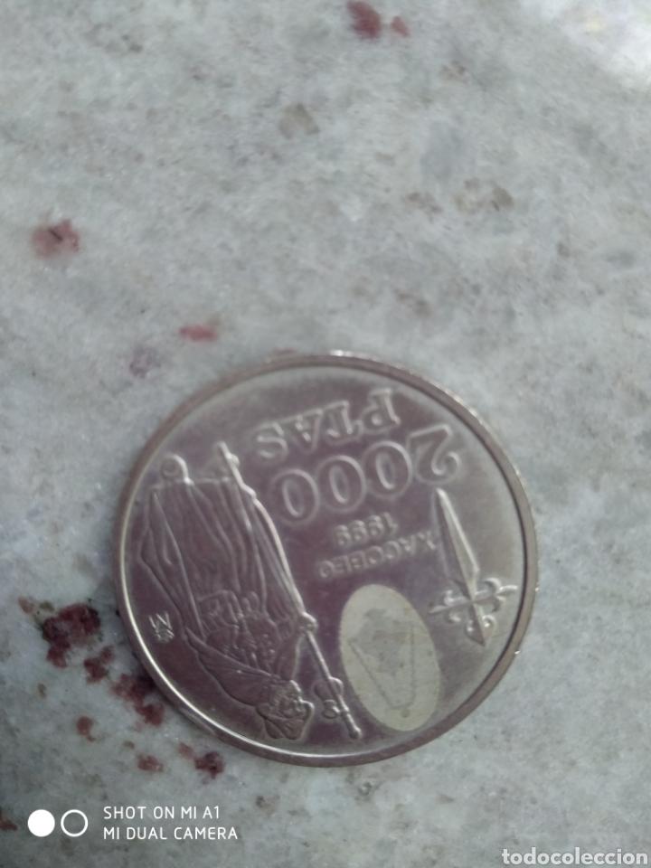 Monedas FNMT: Moneda 2000 pesetas- Xacobeo 1999 conmemorativa-SC - Foto 9 - 238238065