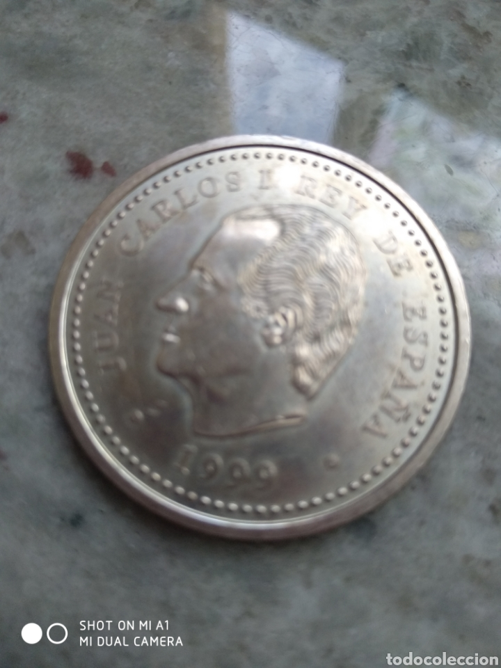 Monedas FNMT: Moneda 2000 pesetas- Xacobeo 1999 conmemorativa-SC - Foto 11 - 238238065