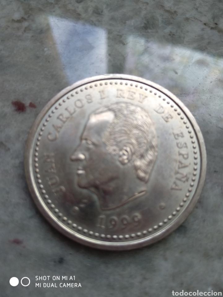 Monedas FNMT: Moneda 2000 pesetas- Xacobeo 1999 conmemorativa-SC - Foto 13 - 238238065