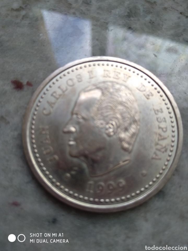 Monedas FNMT: Moneda 2000 pesetas- Xacobeo 1999 conmemorativa-SC - Foto 14 - 238238065