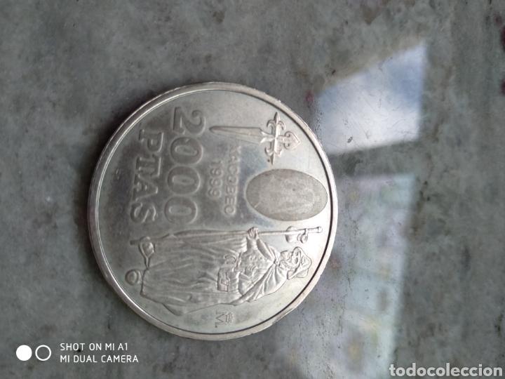 Monedas FNMT: Moneda 2000 pesetas- Xacobeo 1999 conmemorativa-SC - Foto 15 - 238238065