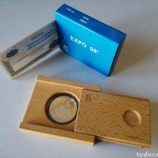 Monedas FNMT: MONEDA 1000 PTS PLATA - EXPO 1998. Lote 238589195