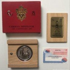 Monedas FNMT: MONEDA 2000 PESETAS PLATA V CENTENARIO CARLOS V AÑO 2000 TIPO BESACON. Lote 279384873