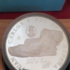 Monedas FNMT: MONEDA 10000 PESETAS ESPAÑA FNMT CULTURA Y NATURALEZA LA MAJA DESNUDA 1996 PLATA. Lote 241032455