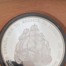 Monedas FNMT: SET MONEDAS FNMT 1995 25, 5, 1 ECU PLATA TEMA BARCOS. Lote 241037085