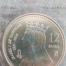 Monedas FNMT: MONEDA 12 EURO ESPAÑA FNMT 2004 PLATA EN FUNDA DEL BANCO. Lote 242819150