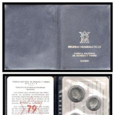 Monete FNMT: PRUEBA NUMISMATICA CARTERA OFICIAL F.N.M.T. 1975* 79 PROOF.. Lote 242967405