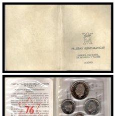 Monete FNMT: PRUEBA NUMISMATICA CARTERA OFICIAL F.N.M.T. 1975* 76 PROOF.. Lote 242983315