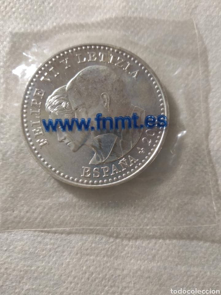 Monedas FNMT: Moneda de plata 30 euros España 2015 El Quijote II - Foto 2 - 254339140