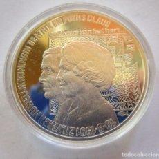 Monedas FNMT: HOLANDA . 25 ECU DE PLATA DE 1991 . PIEZA SUPER BELLA . BEATRIZ Y CLAUS. Lote 243840595