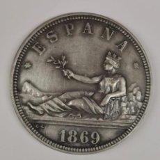 Monedas FNMT: MONEDA CONMEMORATIVA DEL CENTENARIO DE LA PESETA Nº 126 DE 500 ACUÑACIONES (MUY ESCASA). Lote 244826250
