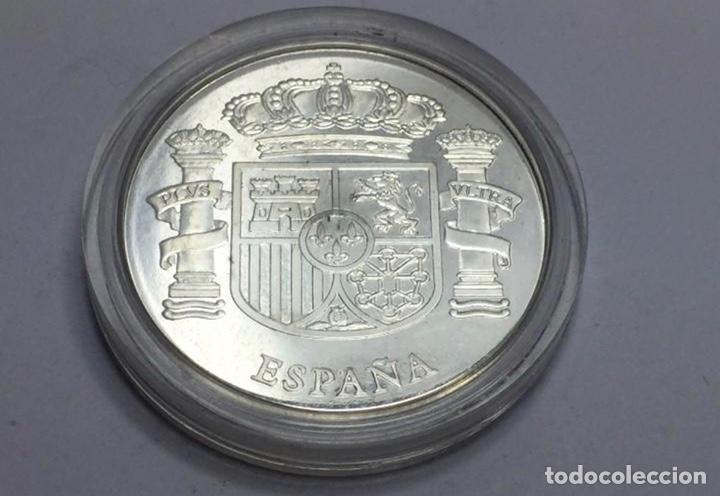 Monedas FNMT: Medalla de plata conmemorativa de los 25 años de Castilla La Mancha - Foto 2 - 244858115