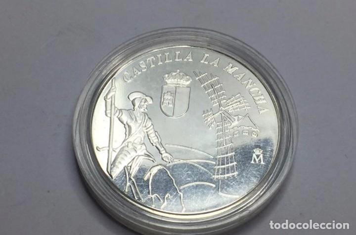 Monedas FNMT: Medalla de plata conmemorativa de los 25 años de Castilla La Mancha - Foto 3 - 244858115