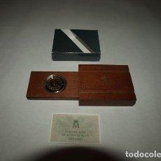 """Monedas FNMT: """"QUINTO CENTENARIO 1492-1992"""". 1 ESTUCHE CON 1 MONEDA DE ORO. 20.000 PTAS. CALIDAD FDC. Lote 244896435"""