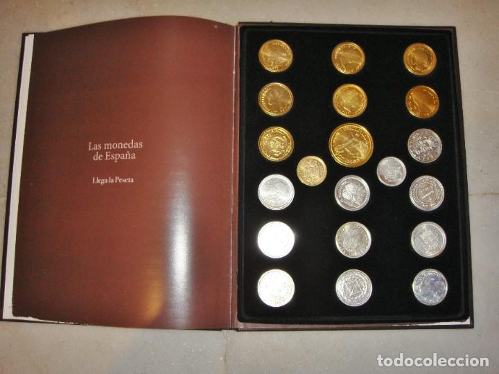 Monedas FNMT: Las monedas de España: de Carlos IV a Juan Carlos I. Llega la Peseta. Baño de oro y baño de plata - Foto 2 - 245894555