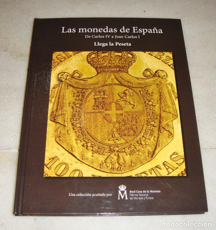 Monedas FNMT: Las monedas de España: de Carlos IV a Juan Carlos I. Llega la Peseta. Baño de oro y baño de plata - Foto 3 - 245894555