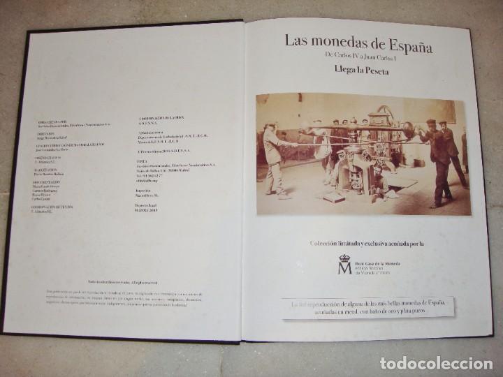 Monedas FNMT: Las monedas de España: de Carlos IV a Juan Carlos I. Llega la Peseta. Baño de oro y baño de plata - Foto 4 - 245894555