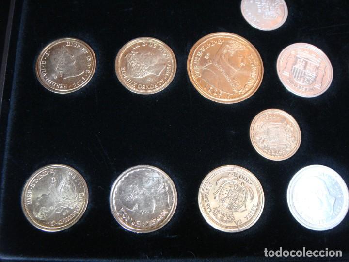 Monedas FNMT: Las monedas de España: de Carlos IV a Juan Carlos I. Llega la Peseta. Baño de oro y baño de plata - Foto 6 - 245894555