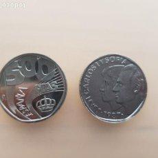 Monedas FNMT: PAREJA DE PRUEBAS NUMISMATICAS MONEDA 500PTAS 1987 ACERO. Lote 246616005