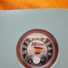 Monedas FNMT: MONEDA DE PLATA DE 30 EUROS DEDICADA A LOS HÉROES ANÓNIMOS DE LA PANDEMIA. Lote 246641620