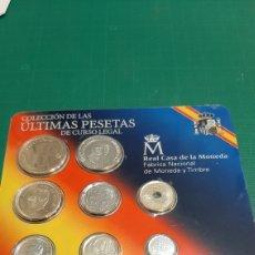 Monedas FNMT: JUAN CARLOS I REY ESPAÑA 2001 ULTIMAS PESETAS SETS FNMT PRECINTADA NUMISMÁTICA COLISEVM. Lote 248188345