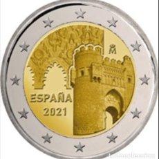 Monedas FNMT: ESPAÑA 2 EUROS 2021 - CIUDAD HISTÓRICA TOLEDO * MONEDA CONMEMORATIVA*-ENCAPSULADA-. Lote 268947949