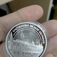 Monete FNMT: 10 EUROS 2005 FNMT SERIE IBEROAMERICANA ARQUITECTURA, ARCHIVO DE INDIAS, ENCUENTRO DOS MUNDOS. Lote 257867755