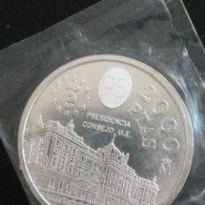 Monedas FNMT: MONEDA 2000 PESETAS ESPAÑA FNMT 1995 PLATA EN FUNDA DEL BANCO. Lote 260866440