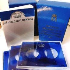 Monedas FNMT: ⚜️ PRUEBAS NUMISMÁTICAS 1987 BODAS DE PLATA. SET VACÍO EN PERFECTO ESTADO. Lote 262462785