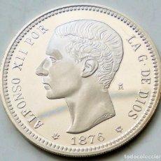 Monedas FNMT: 1 PESETA - MEDALLA F.N.M.T. - 1876 (* 18-76) D·E·M· - 13,50 GRAMOS PLATA 0.925 - PROOF. Lote 263009250