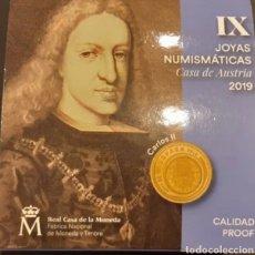 Monedas FNMT: ESPAÑA 20EUR. ORO.2019. JOYAS NUMISMÁTICA CASA DE AUSTRIA. Lote 263121875