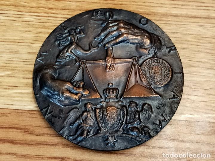 MEDALLA FMNT 1975 CAROLUS III - IN MEMORIAM 1773 (Numismática - España Modernas y Contemporáneas - FNMT)